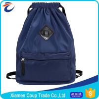 Quality Customized Logo Coloured Drawstring Bags Nylon Material 42x15x45 Cm Size for sale