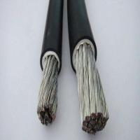 Quality UL Cable ROHS PVC Double Insulation 8AWG 600V UL1283 105℃ Electrical Wire in Black color for sale