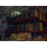 Quality both side access double - deep Drive In Pallet Racking for industrial storage for sale