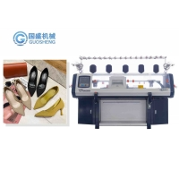 Quality 3d Textile Shoe Upper Computer Knitting Machine Factory Price high-heeled shoes for sale