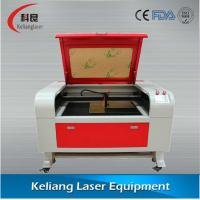 Quality KL690 CHINA 80W CO2 Laser Engraving Machine for leather belts for sale