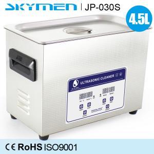 Digital Heater Benchtop Ultrasonic Cleaner , Household Kitchen Ultrasonic Cleaning Machine