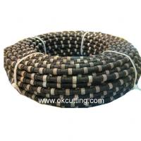 Diamond wire-saws for reinforced concrete. (color is black and material is diamond)