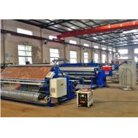Quality High Efficiency Roll Mesh Welding Machine 1.5 - 2.75 Mm For Holland Mesh Fence for sale