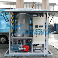 Quality Double Stage Transformer Oil Filter Machine Increasing Breakdown Voltage for sale