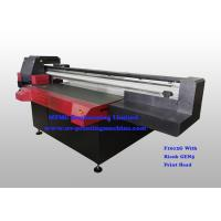 Quality Digital Uv Flatbed Printing Machine , Wide Format Flatbed Printer High Speed for sale