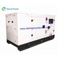 Easy Operation 1500 Rpm Diesel Generator Set / 60kva 48kw