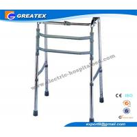 Quality Single Release Folding Rollator Walker With Double Bars FDA CE ISO Approved for sale