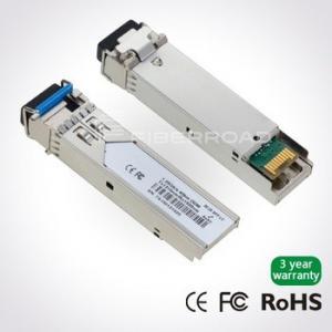 Quality 1.25Gb/s 20Km LC BiDi SFP Transceiver Single LC 1490nm Tx / 1310nm Rx Single Mode , DDM for sale