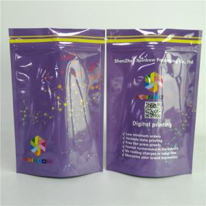 China Custom Brand Packaging For Food Mylar Foil Pouch Dry Fruit Packaging Bag on sale