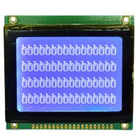Quality 128*64 STN Graphic LCD Display Module , Dot Matrix Type Serial LCD Module for sale