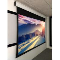 Motorized drop down projection screen quality motorized for Motorized drop down projector screen