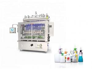 Quality 1.5KW Corrosive Liquid Bottle Filling Capping And Labeling Machine for sale