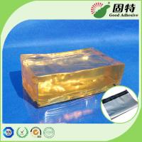 Quality Yellow Block Pressure Sensistive Hot Melt Glues For Packaging Mail Bag Sealing for sale