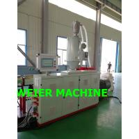 Quality plastic HDPE PVC Double Wall Corrugated Pipe machine with SIEMENS PLC control for sale