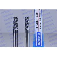 Quality Solid Carbide High Speed Milling Cutters For Tempered Steel / Stainless Steel for sale