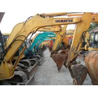 Buy cheap 0.2m3 Dipper Capacity Used KOMATSU Excavator 2012 Year Made 28.5 Rated Power from wholesalers