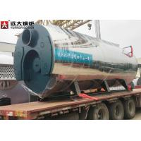 Buy cheap 400 Hp Fire Tube Steam Boiler , Heavy Oil Fired Boiler For Food Factory from wholesalers