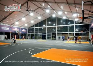 Quality Glass Sidewall 20m Wide Sport Event Tents For Basketball Court for sale