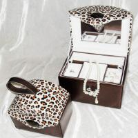 Quality leatheroid jewelry boxes,set jewelry box,jewellery case for sale
