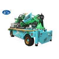 China High output robot arm concrete wet spraying trolley on sale