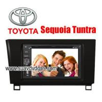 Buy cheap Toyota Sequoia Tuntra special Car DVD Player GPS Navigation bluetooth RDS IPOD from wholesalers