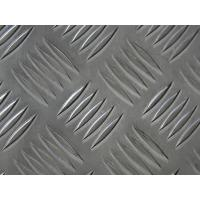 Quality 6061 T6 Aluminum Diamond Tread Plate , Heat Insulating Diamond Plate Sheets for sale
