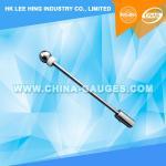 Quality DIN VDE 0470 IP20C / DIN 40050-9 IP2XC Steel Rigid Sphere of 12.5 mm for sale