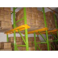 Quality high density Drive in pallet racking with spray powder coating finished for sale