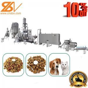 China SLG 65-III Dry Dog Food Making Machine Twin Screw Extruder 500-600 Kg/h on sale