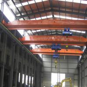 Quality Indoor Monorail Overhead Crane / European Style 5 Ton Single Girder EOT Crane for sale