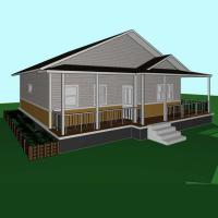 China Temporary Two Bedroom Prefab Modular Homes For Lab / Workshop / Plant on sale