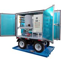 Quality Weatherproof Double Stage Transformer Oil Filtration Plant with Trailer for sale