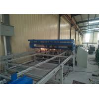 Quality Adjustable Welding Pressure Wire Mesh Making Machine , Automatic Welded Wire Mesh Machine for sale