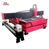 China Jinan CAMEL CA-1530 Metal Plasma Cutting Machine For Stainless Steel/Carbon steel on sale