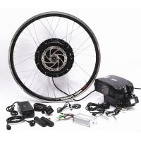 China 750w 1000w Front Wheel Electric Bicycle Motor Conversion Kit With Downtube Battery on sale