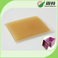 Quality Bookbinding Hot Melt Glue For Book-Facing and Rigid Box Making On Automatic Rigid Box Maker for sale