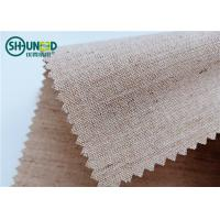 Quality Woven Hair Bow Canvas Cotton Polyester Interlining 260gsm Lining For Garment Uniform Suit for sale