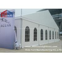 Buy cheap Permanent Outdoor Marquee Party Tent Clear Span PVC Coated Sidewall 20x50m Size from wholesalers