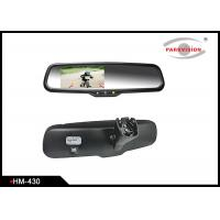 Quality 4.3 Inch Rear View Mirror Backup Camera System With High Reflective Rate for sale