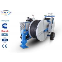 Quality 7500kg Transmission Line Equipment Max Continuous Tension 2X70KN Hydraulic Laying Tensioner for sale