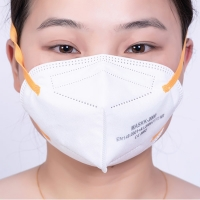 Quality Non Woven White FFP2 Disposable Surgical Face Mask for sale