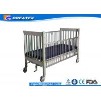 Quality Luxury Adjustable Electric Pediatric Hospital Baby Bed , Hospital Baby Cart / Cot for sale