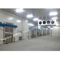 Quality Commercial PU Sandwich Cold Room Panel Walk In Freezer For Meat And Fish Storage for sale