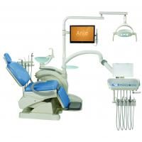 Quality Complete Dental Chair Suction Unit / Portable Dental Unit Glass Spittoon for sale