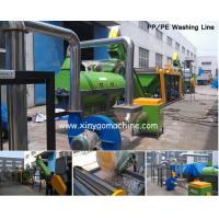 China HDPE bottle Plastic Washing Line Stainless steel for wet contacting parts on sale