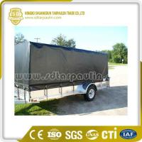 Quality Good Flexibility Poly Trailer Cover Tarp for sale