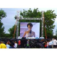 Quality Great Waterproof Super Slim Outdoor Led Screen Rental With 512x512 Die Caste Cabinet for sale
