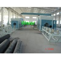 Quality PE / HDPE Water Pipe Extrusion Line SJ 120 / SJ 150 , 16mm To 2000mm Diameter for sale