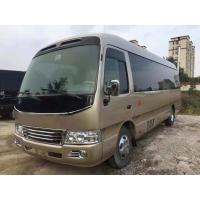 Quality 19 Seats Original Japan Toyota Coaster Bus , Coaster Mini Bus 3RZ Engine 2004 Year for sale